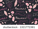 modern leopard pattern design... | Shutterstock .eps vector #1321772381