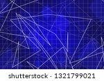 beautiful blue abstract... | Shutterstock . vector #1321799021
