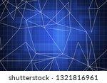 beautiful blue abstract... | Shutterstock . vector #1321816961