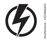 electric power logo design... | Shutterstock .eps vector #1321866641