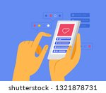 vector illustration in simple... | Shutterstock .eps vector #1321878731