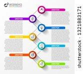 infographic design template....   Shutterstock .eps vector #1321883171