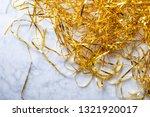 gold tinsel texture   Shutterstock . vector #1321920017
