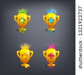 receiving the cartoon game...   Shutterstock .eps vector #1321923737