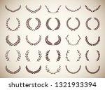 collection circular vintage...   Shutterstock .eps vector #1321933394
