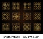 a set of decorative patterns... | Shutterstock .eps vector #1321951604
