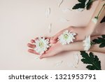 creative and fashion art skin...   Shutterstock . vector #1321953791