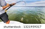 sports fishing fisherman man... | Shutterstock . vector #1321959317