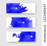 banners with abstract color ink ...   Shutterstock .eps vector #1321985657