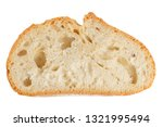 cropped view of a slice of... | Shutterstock . vector #1321995494