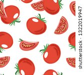 seamless pattern with whole and ... | Shutterstock .eps vector #1322019947