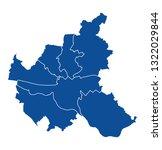 map of hamburg | Shutterstock .eps vector #1322029844