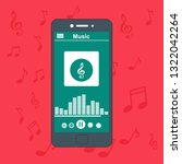 music player app interface...