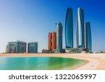 abu dhabi  united arab emirates ... | Shutterstock . vector #1322065997