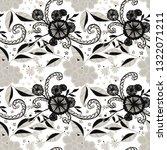 small flowers. seamless pattern ... | Shutterstock .eps vector #1322071211