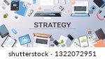 business strategy marketing... | Shutterstock .eps vector #1322072951