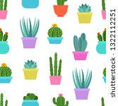 seamless floral pattern with... | Shutterstock .eps vector #1322112251