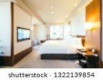 abstract blur bedroom and...   Shutterstock . vector #1322139854