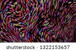 colourful simple abstract... | Shutterstock .eps vector #1322153657