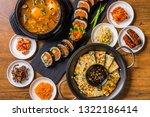 typical korean gourmet | Shutterstock . vector #1322186414