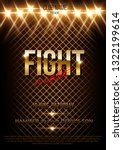 fight night vector poster... | Shutterstock .eps vector #1322199614