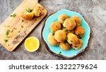 italian arancini. home made...   Shutterstock . vector #1322279624