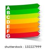 jpg  energy classification in...   Shutterstock . vector #132227999