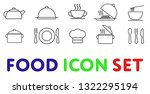 food icon set. vector. perfect... | Shutterstock .eps vector #1322295194
