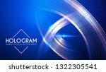 hologram. abstract background... | Shutterstock .eps vector #1322305541