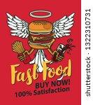 vector banner for fast food...   Shutterstock .eps vector #1322310731