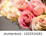 rose flowers for calendar and... | Shutterstock . vector #1322314181