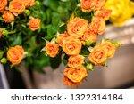 rose flowers for calendar and... | Shutterstock . vector #1322314184