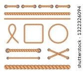 vector illustration set of... | Shutterstock .eps vector #1322326094