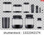 big set of template sport... | Shutterstock .eps vector #1322342174