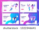 augmented reality  virtual... | Shutterstock .eps vector #1322346641