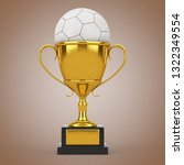 football soccer award concept....   Shutterstock . vector #1322349554
