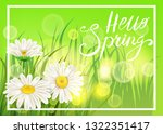 spring daisies  chamomiles...   Shutterstock .eps vector #1322351417