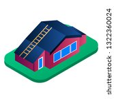 residence village house icon.... | Shutterstock .eps vector #1322360024