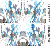 quirky tapestry pattern.... | Shutterstock .eps vector #1322361554
