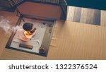 tsumago juku. 3d illustration | Shutterstock . vector #1322376524