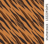 a tiger animal print seamless... | Shutterstock .eps vector #1322392691