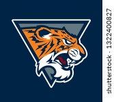 tiger head sport mascot. sport... | Shutterstock . vector #1322400827