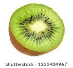 Slice Of Kiwi Fruit Isolated On ...