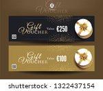 collection of discount voucher... | Shutterstock .eps vector #1322437154