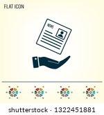 newspaper  press  news vector... | Shutterstock .eps vector #1322451881
