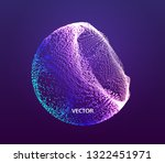the half sphere consisting of... | Shutterstock .eps vector #1322451971