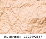 a picture of brown crinkled... | Shutterstock . vector #1322492567