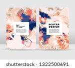 abstract poster background. it... | Shutterstock .eps vector #1322500691