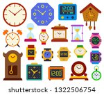 watch simple flat cartoon style ... | Shutterstock .eps vector #1322506754