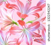 seamless floral pattern with... | Shutterstock .eps vector #1322542247
